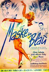 Maske in Blau - Poster