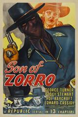 Zorros Sohn - Poster