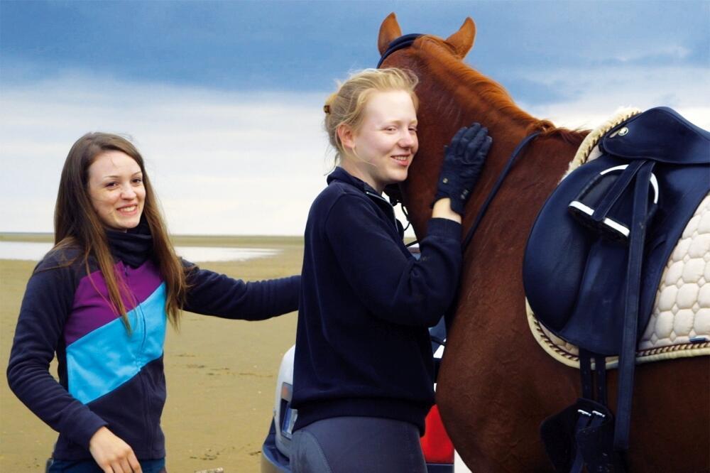 Von Mädchen und Pferden