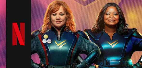 Thunder Force mit Melissa McCarthy und Octavia Spencer