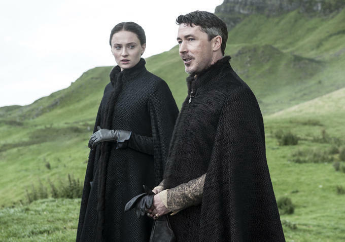 Game of Thrones - Staffel 5 mit Sophie Turner und Aidan Gillen