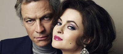 Helena Bonham Carter und Dominic West in Burton and Taylor