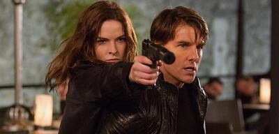 Rebecca Ferguson & Tom Cruise sind auch wieder in Mission Impossible 6 dabei