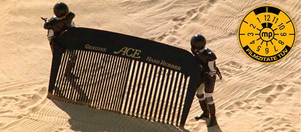 Durchkämmt Die Wüste