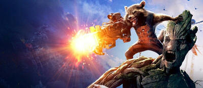 Groot und Rocket Raccoon aus Guardians of the Galaxy