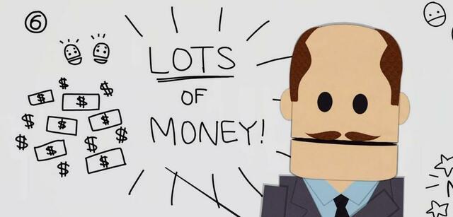 LOTS OF MONEY!