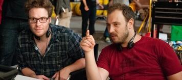 Seth Rogen und Evan Goldberg bei der Arbeit