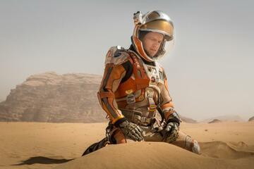 Matt Damon allein auf dem Mars