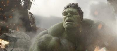 Der arme Hulk blickt verunsichert in eine unklare Zukunft.
