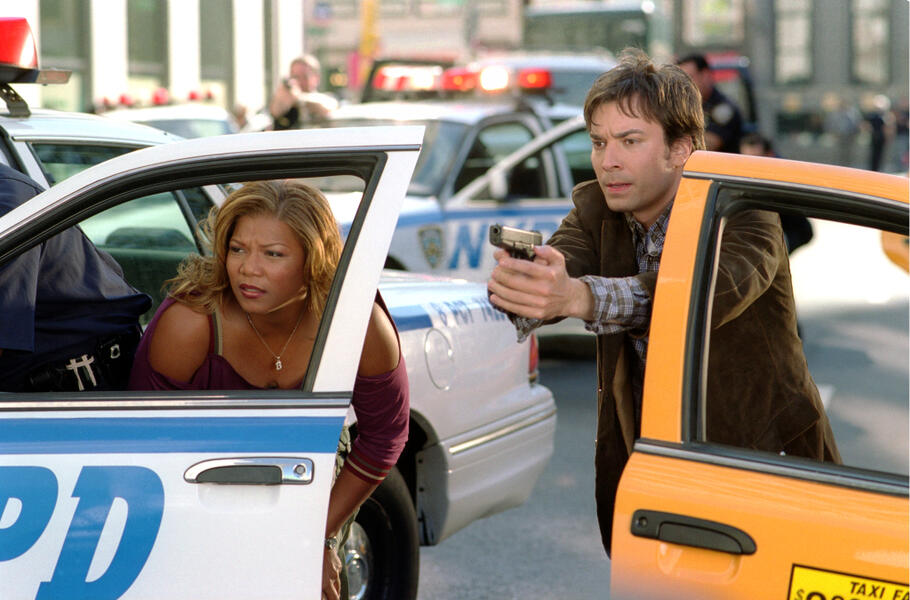 New York Taxi mit Jimmy Fallon und Queen Latifah