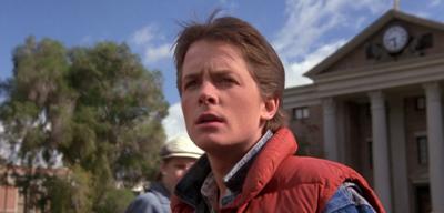 Nicht in jeder Einstellung Michael J. Fox: Marty McFly