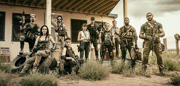 Der Cast von Zack Snyders Army of the Dead