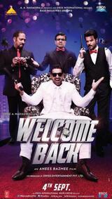 Welcome Back - Poster