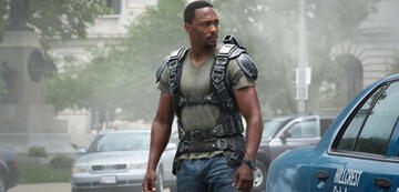 Anthony Mackie als Falcon in Captain America 2