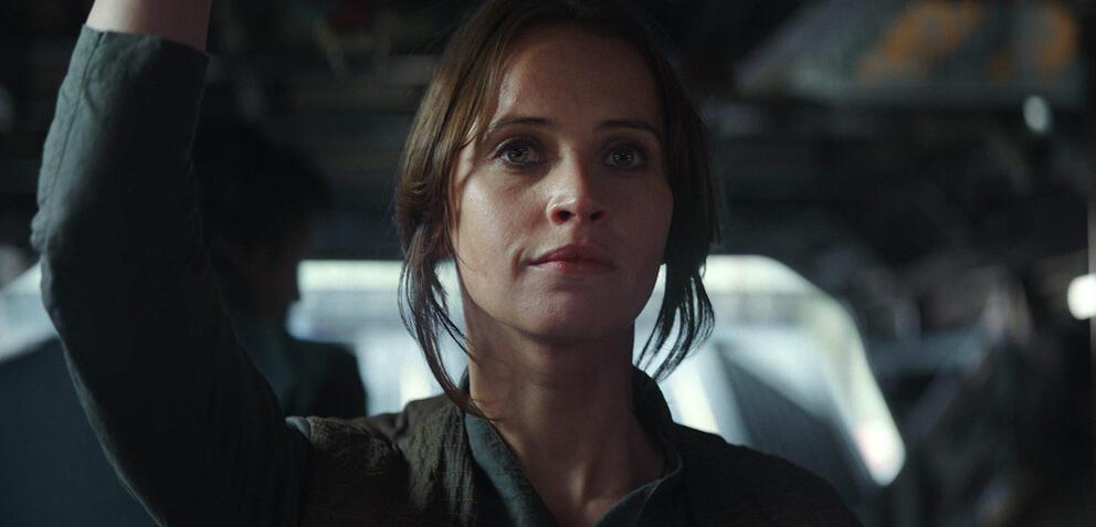 Rogue One: A Star Wars Story mitFelicity Jones