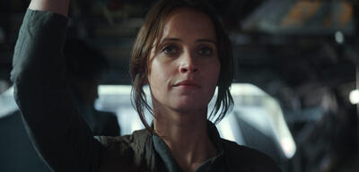 Rogue One: A Star Wars Story mit Felicity Jones