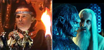 Der Herr der Ringe im Vergleich: Saruman & Orks/Uruk-hai