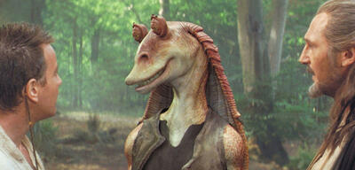 Jar Jar Binks in Star Wars: Episode I - Die dunkle Bedrohung
