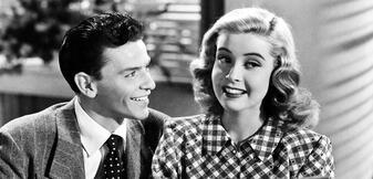 Frank Sinatra und Gloria DeHaven in Step Lively
