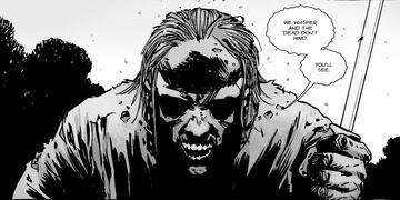 Whisperer im The Walking Dead-Comic