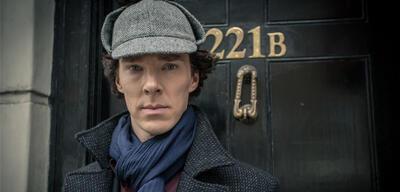 BenedictCumberbatch als Sherlock