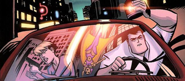Ausschnitt aus der Graphic Novel