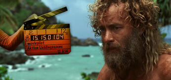 Tom Hanks als Gestrandeter Chuck Noland