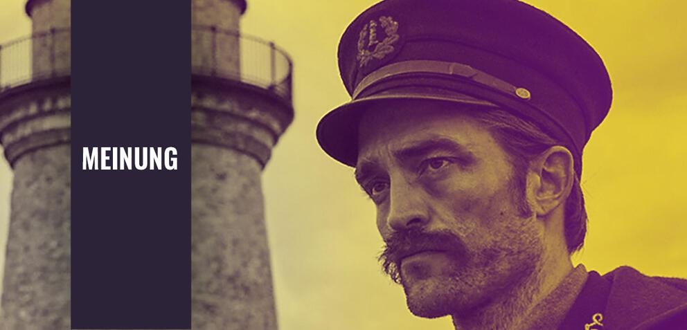 Robert Pattinson in Der Leuchtturm