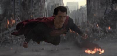 Düster sieht's aus: Henry Cavill in Man of Steel