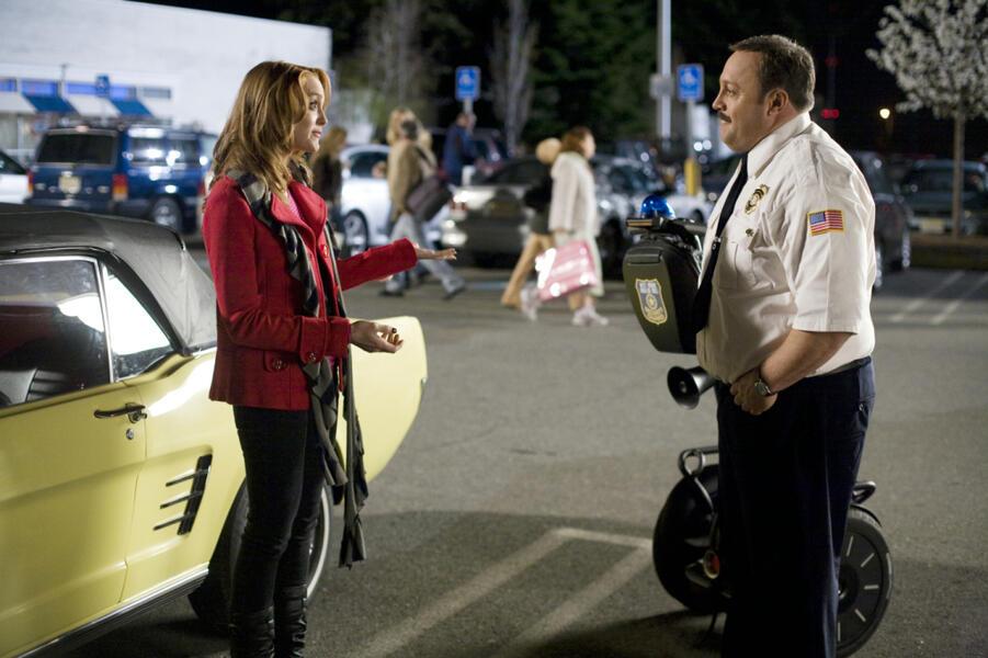 Der Kaufhaus Cop mit Kevin James und Jayma Mays