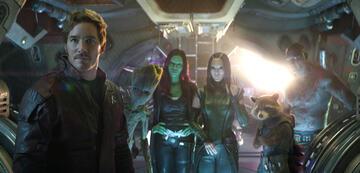 Die Guardians in Infinity War