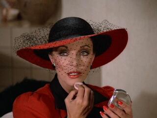Joan Collins als Alexis Carrington in Der Denver-Clan