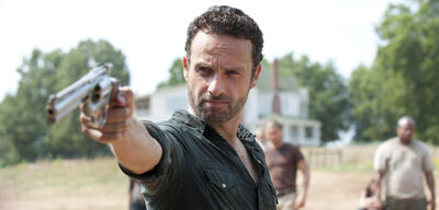Andrew Lincoln alsRick in The Walking Dead