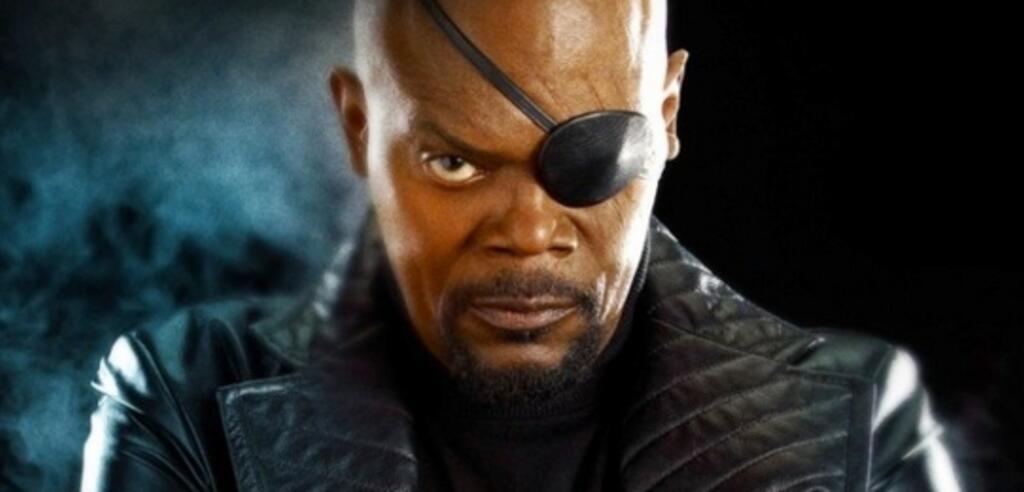 Samuel L. Jackson als Nick Fury in Captain America