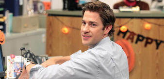 John Krasinski in The Office