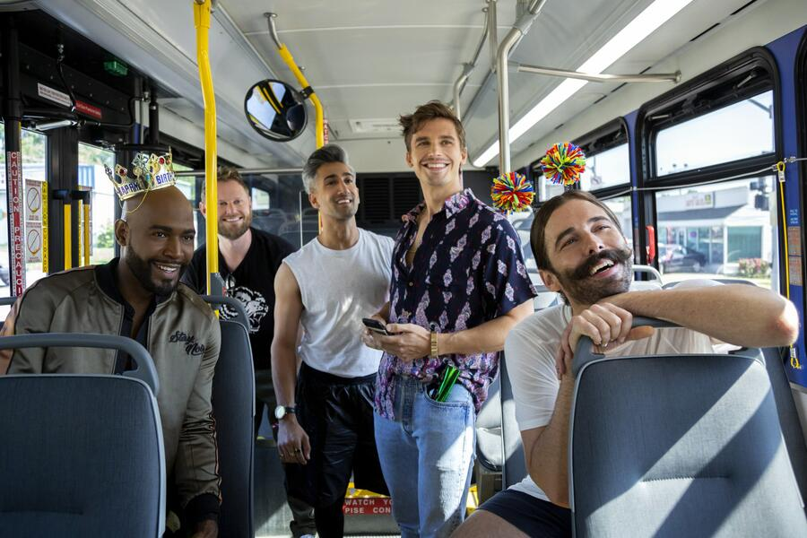Queer Eye - Staffel 3 mit Bobby Berk, Tan France, Karamo Brown und Antoni Porowski