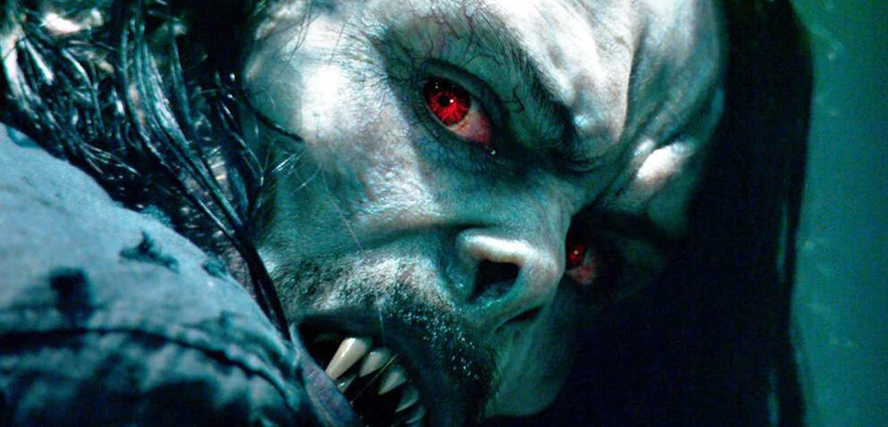 Jared Leto als Morbius