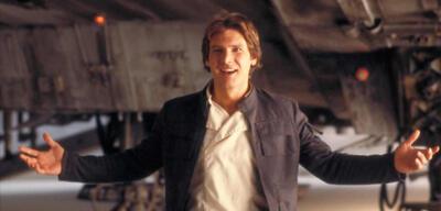 Harrison Ford als Han Solo in Das Imperium schlägt zurück