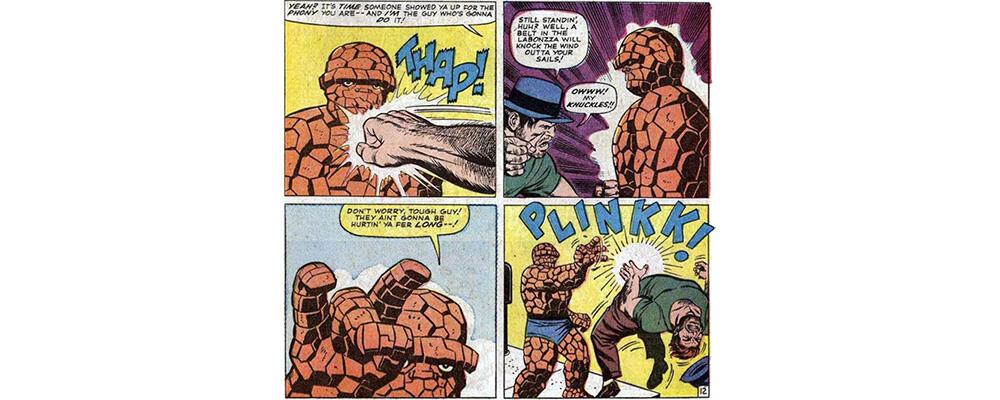 Marvel Comic Leichtigkeit