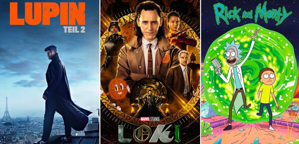 Serien und Staffeln im Juni 2021