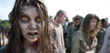 Bild zu:  Da machen selbst die Zombies aus The Walking Dead große Augen