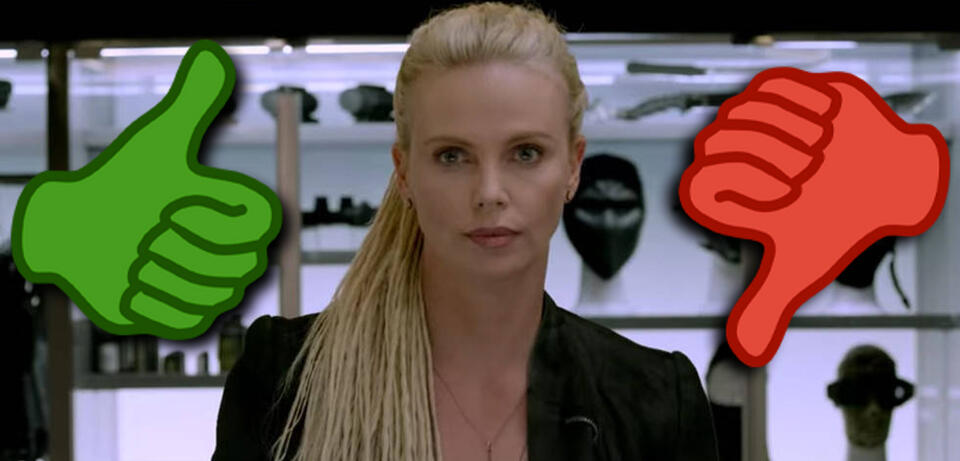 Charlize Theron in Fast & Furious 8