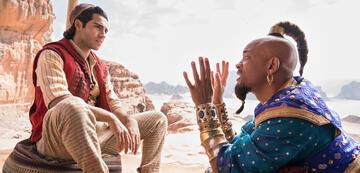 Aladdin & Dschinni (Mena Massoud & Will Smith)