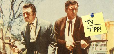 Kirk Douglas und Burt Lancaster in Zwei rechnen ab