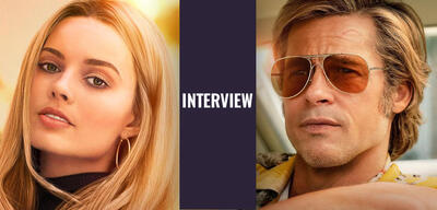Once upon a time in hollywood brad pitt margot robbie interview