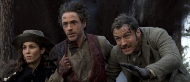 Laufen Noomi Rapace, Robert Downey Jr. und Jude Law schon Sherlock Holmes 2 entgegen?
