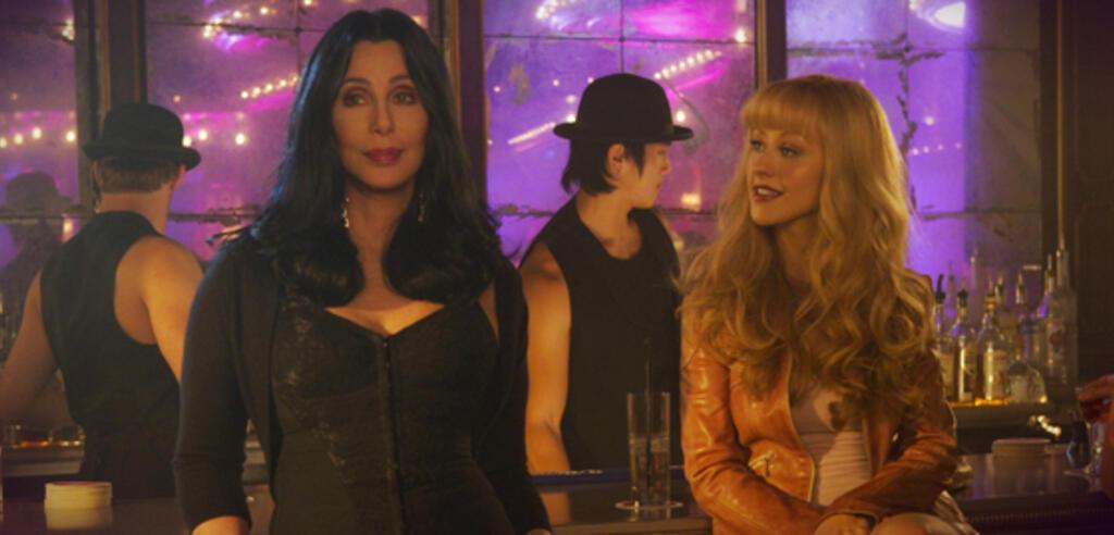 Cher und Christina Aguilera in Burlesque