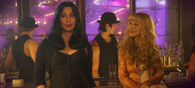Cher und Christina Aguilera in Burlesque