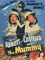 Abbott und Costello als Mumienräuber - Poster