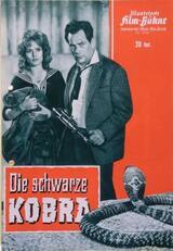 Die schwarze Kobra - Poster